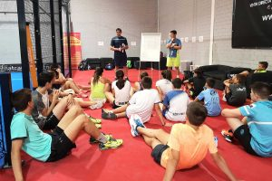 Tactical Training in Padel